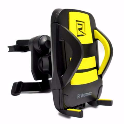 Remax RM-C03 Air Vent Smartphone Holder - Kuning