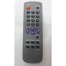 Remote TV Sharp Tabung abu-abu