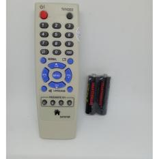 Remote TV Sharp Tabung - Putih