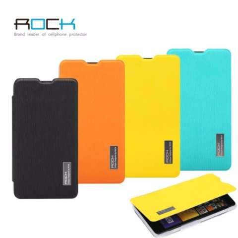 Rock Flip Case (Elegant Series) - Nokia Lumia 625 Orange