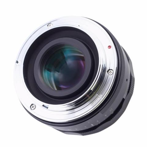 Roolad Kaxinda 35 Mm F/1.7 Bukaan Apertur Manual Fokus Lensa untuk Olympus M43 Panasonic Xiaoyi Digital Mirrorless Kamera em EP PL GX Hitam Perak-Internasional 3