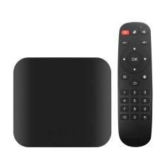 S-BOX Smart Android 6.0 TV Box Amlogic S905X Quad Core 64bit H.265 VP9 UHD 4K 3D 2G / 32G Mini PC WiFi Bluetooth 4.0 DLNA AirPlay Miracast Media Player UK Plug - intl