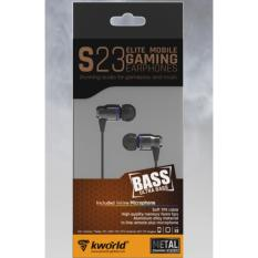 S23 - kworld gaming earphones