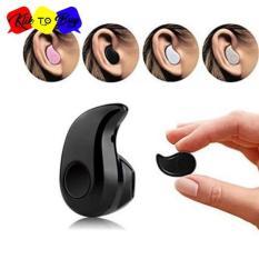 S530 Mini Portabel 4.1 Nirkabel Bluetooth Earphone Olahraga Stereo High-fidelity Kualitas Suara Headset Headphone For Hampir Semua Ponsel AND Tablet PC-Hitam  1 Pcs