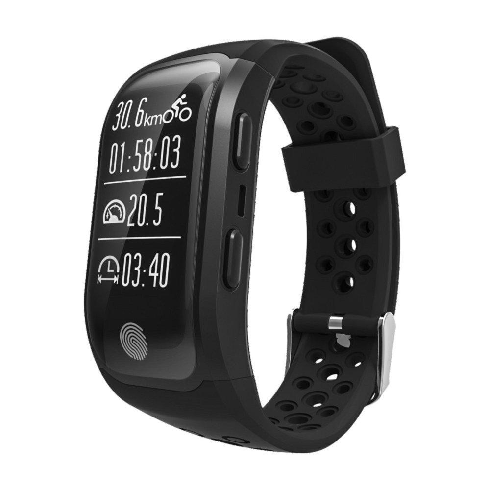 S908 Wristband Heart Rate Monitor Smart Watch GPS  Trajectory Tracker Outdoor Sports Waterproof For Android And IOS Phone