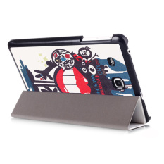 Sajak untuk Kulit Penutup Folio Stan Samsung Galaxy Tab A 17.78 Cm T280 T285 (hitam)
