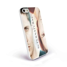 Sam and Dean Supernatural Tv Series Ww Design for Samsung Galaxy and Iphone Case (iPhone 5/5S black) - intl