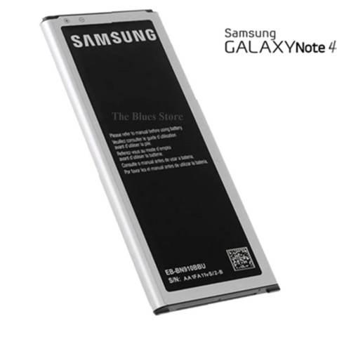 Samsung Battery Galaxy Note 4 SM-N910H 3220mAh + Gratis Charger Samsung J1 Ace