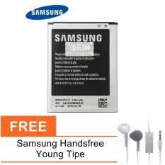 Samsung Galaxy Grand Duos GT-I9082 Lithium-Ion Baterai - Black + Free Samsung Handsfree Young