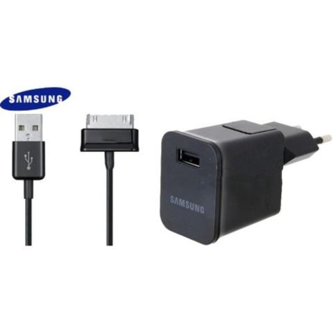 Samsung Galaxy Tab Charger 7 & 10.1 + 30 Pin ORIGINAL USB Data Charger for Tab