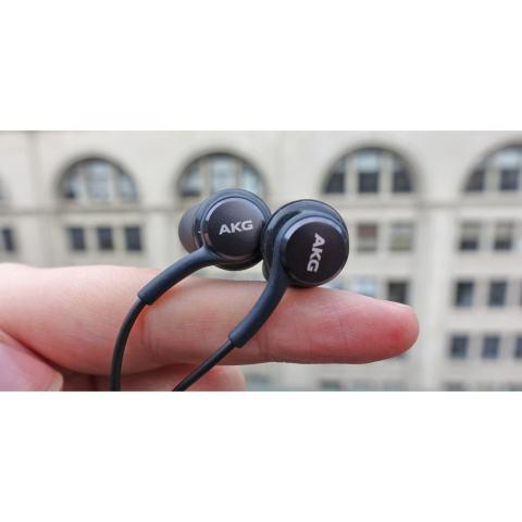Home; Samsung Handsfree AKG S8 Earphone/Headset/In ear Original - Black
