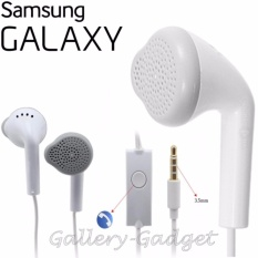 Samsung Handsfree / Headphones / Earphone / Haedset Galaxy Young Gallery Gadget - Putih