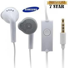 Samsung Handsfree / Headphones / Earphone / Headset Samsung Untuk Semua HP Original - Putih