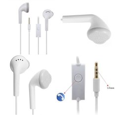 Samsung Original Young / Wonder 100% Handsfree / Headset / Earphone - Putih