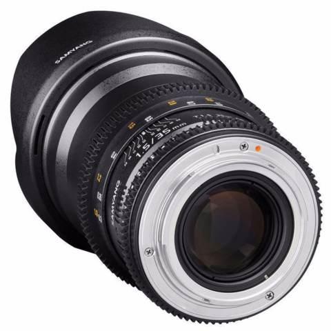Samyang Lens 35mm T1.5 VDSLR MK II for Sony Nex 4