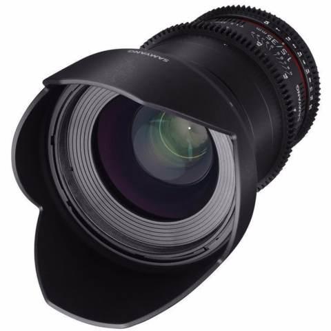 Samyang Lens 35mm T1.5 VDSLR MK II for Sony Nex 1