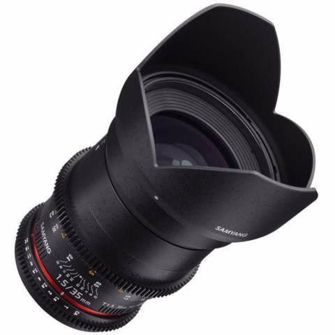 Samyang Lens 35mm T1.5 VDSLR MK II for Sony Nex 2