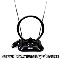 Sanex HDTV SN-733 Antena Dalam Digital (BEST FOR LCD & LED TV)