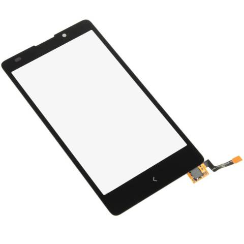 Digitizer Layar untuk Nokia XL RM 1030 RM 1042 (Hitam)--Intl 1