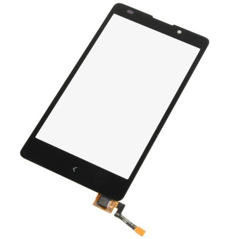 Digitizer Layar untuk Nokia XL RM 1030 RM 1042 (Hitam)--Intl 2