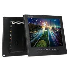 Keamanan Monitor 8 Inch TFT LCD Warna Video Layar VGA TV AVInputwith Remote Controller untuk PC Bus Mobil Kendaraan Rumah Keamanan-Sta-Intl