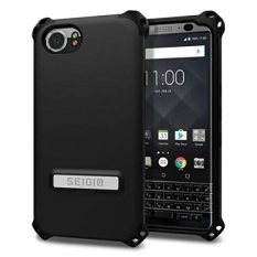 Seidio Dilex Case with Kickstand for BlackBerry KEYOne (Black/Black) - intl