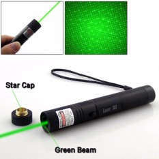 Senter Laser Hijau Jarak Jauh Laser Pointer Rechargebel