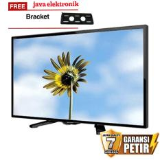 Sharp 24 inch LED HD TV - Hitam (Model LC-24LE175i) FREE BREKET TV