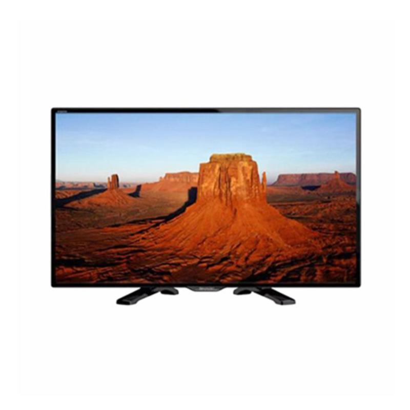 Sharp HD LED TV 24 - LC-24LE175I - Hitam