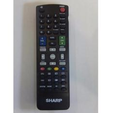 Sharp Remote Control TV LCD/LED 3D - Hitam