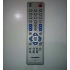 Sharp Remote TV Tabung Flat - Putih
