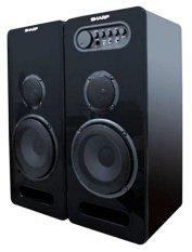 Sharp Speaker Active CBOX-G600UBL - Hitam
