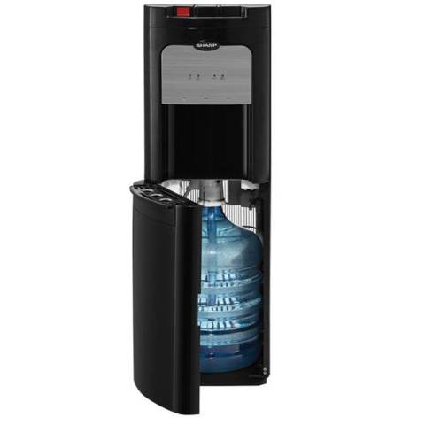 SHARP Water Dispenser Battery Back Up Galon Bawah - SWD-80EHL-BK - Hitam - Khusus Jabodetabek 1