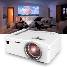 Short-Focus Lens LED Mini UNIC Multimedia HD Projector USB AV TF HDMI IR - intl