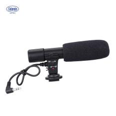 Sidande Mic-01 Kamera Digital Video DV Studio Stereo Camcorder 3.5mm Recording Mikrofon untuk Canon Nikon Pentax Olympus Panasonic Digital SLR Camera - intl
