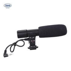 Sidande Mic-01 Digital Video DV Camera Studio Stereo Camcorder 3.5mm Recording Microphone for Canon Nikon Pentax Olympus Panasonic Digital SLR Camera - intl