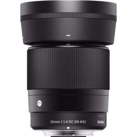 Sigma 30mm f/1.4 DC DN Contemporary Lens for Sony E - (Free Lenspen Pembersih Lensa) 3