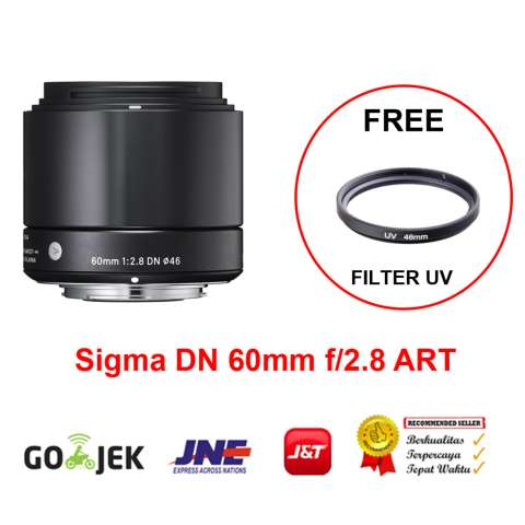 Sigma Lens 60mm f-2.8 DN ART for Sony E-Mount A5000-A5100