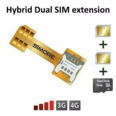 SIM Card + Micro SD Converter Konverter Hybrid Smarthpone