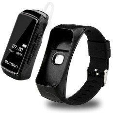 SKF-B72 Smartwatch Heart Rate Tracker Pedometer Hand Free Phone Call Answering Bluetooth Smart Watch For iPhone 7 Plus 6 6S Plus - intl