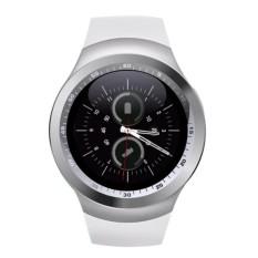 Pintar Watchs Y1 Sepanjang Tampilan Mendukung Nano Sim & TF Kartu dengan WhatsApp dan Facebook Pria Wanita Bisnis Jam Tangan Pintar untuk IOS/Android-Internasional