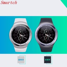 Smartch 2018 Hot Sale Y1 Bluetooth Smart Watch With Sim Tf Clock Hours Mtk6261 Smartwatch Phone For Round Circle in Stock - intl