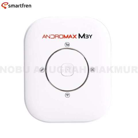 Smartfren Andromax M3Y Modem Mifi 4G LTE + Free Travel Charger Micro USB + Perdana -
