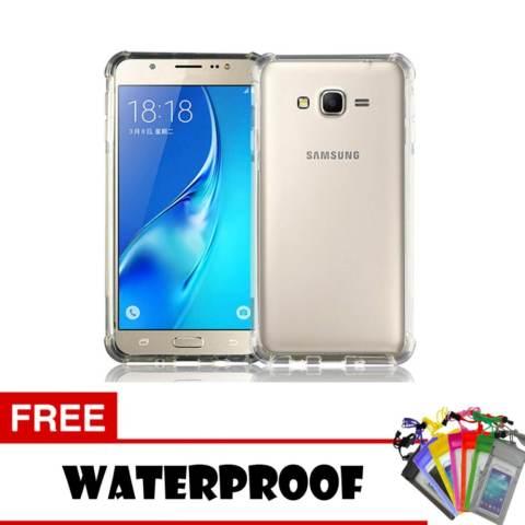 Softcase Anti Crack Anti Shock For Samsung Galaxy J310 ( J3 2016 ) Aircase - Putih