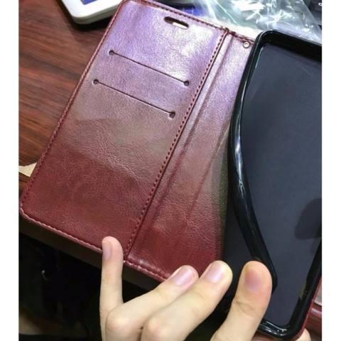 Softcase Casing Case Asus Zenfone 3 Max ZC520TL 5.2 Inch Flip Cover Leather Wallet Case