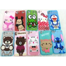 Jelly case / Softcase Jelly Karakter Timbul / Boneka Tempel 4D For OPPO A71 - ABS