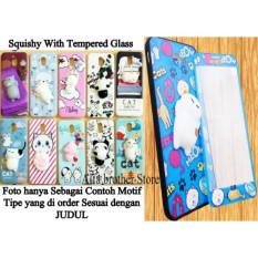 Softcase Karakter Squishy With Tempered Glass Motif senada For SAMSUNG GALAXY J5 (2016) (GAMBAR RANDOM) - ABS