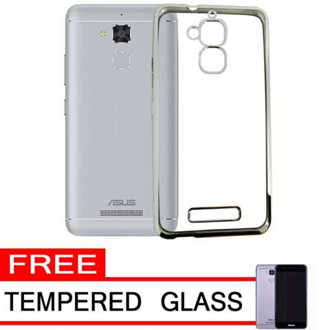 Softcase Silicon Jelly Case List Shining Chrome for Asus .