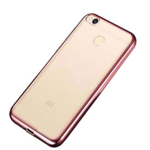 Home; Softcase Ultrathin Shining List Chrome Jelly For Xiaomi Redmi 4X Aircase – Rose Gold