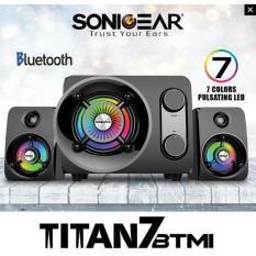 SonicGear Speaker Titan 7 BTMI Bluetooth, FM Radio, USB